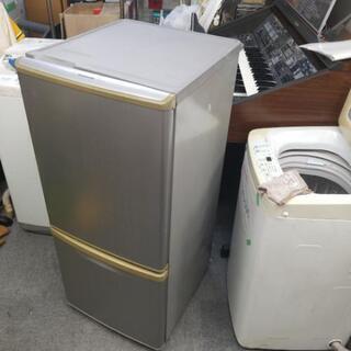 激安 パナソニック 2ドア冷蔵庫 2010年 NR-B142W-...