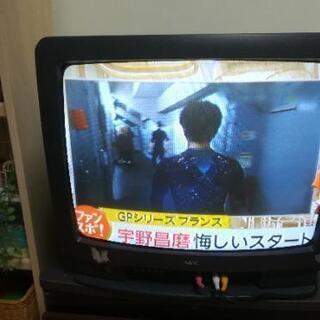 NECカラーテレビ  地デジチューナー付属