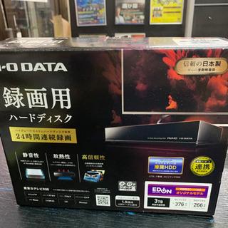 【美品】 i.o data アイオーデータ 3TB HDD
