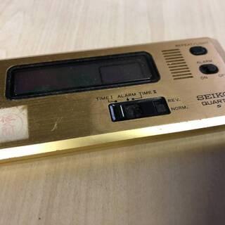 セイコー カード クォーツ 時計 昭和レトロ