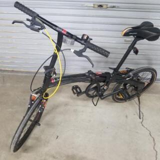 ドッペルギャンガー 202 7段ギア折り畳み自転車 作動OK