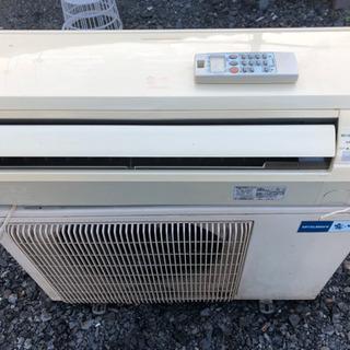 霧ヶ峰 人感センサー付き 冷暖房エアコン 12畳用 取付け込み