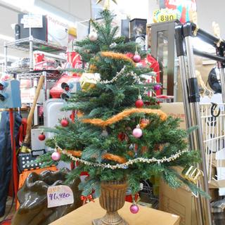 クリスマスツリー 90cm 組み立て式  ヌードツリー オーナメ...