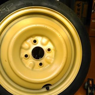 応急用タイヤ T115/70D14(4穴) PCD:100mm