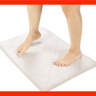 ⬛️バスマット⬛️低反発 超厚2cm 足拭きマット 滑り止め付き...