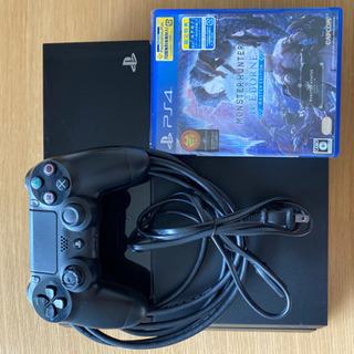 PS4初期型(500GB)とモンハンワールドアイスボーン