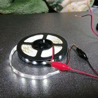 非防水 LEDライト 5m 新品です。
