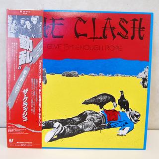 THE CLASH LPレコード GIVE 'EM ENOUGH...