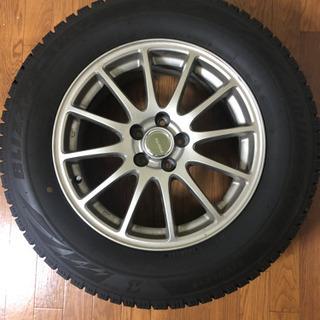 215/65R 16 スタッドレスタイヤホイール4本セット