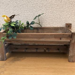 【アンティーク木製棚🌸】