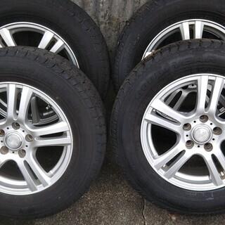 アルミ+スタッドレスタイヤ 215/65R16