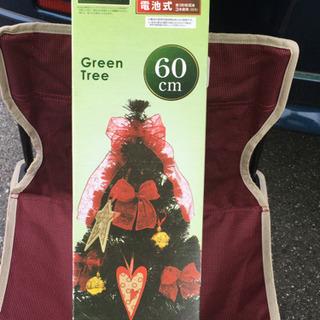 クリスマスツリー ファイバーイルミネーション 美品