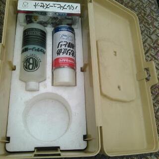 未使用ヒューズ 油膜 バッテリー補充液 オーナーBOX