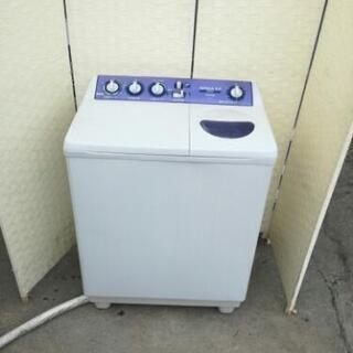 ❪値下げ2中古品❫ 二層式洗濯機3.0 ❷