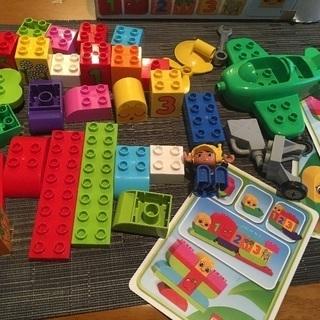 duplo レゴ 2種類セット 1歳半〜3、4歳位