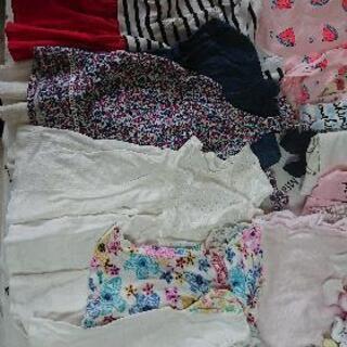子供服(女の子)サイズ80位 ワンピース、水着、甚平、夏物合計 ...