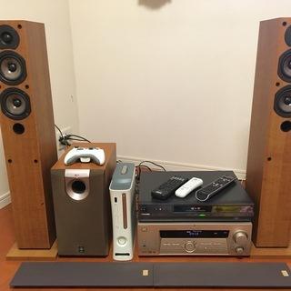 【差し上げます】AV機器一式 HDD&DVDレコーダー・AVアン...