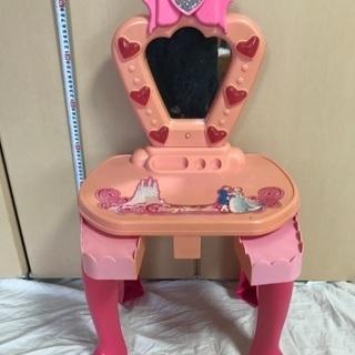 おもちゃ鏡付きドレッサー お化粧台 女の子