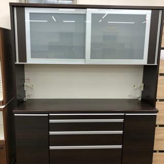 食器棚 レンジボード キッチン収納 幅168cm【松田家具】