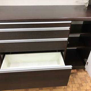 食器棚 レンジボード キッチン収納 幅168cm【松田家具】  - 売ります・あげます