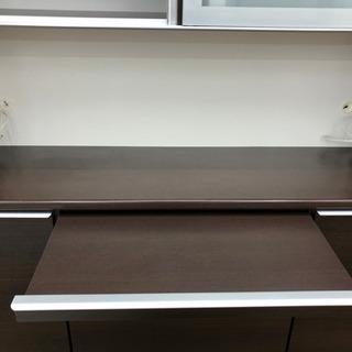 食器棚 レンジボード キッチン収納 幅168cm【松田家具】  - 家具