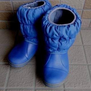 CROCS クロックス キッズ用 長靴 スノーブーツ J2 20cm