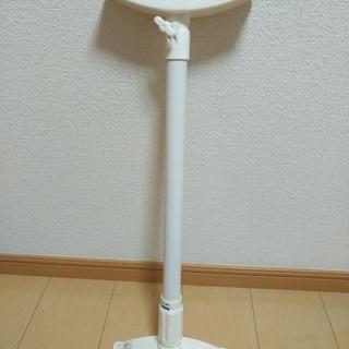 家具転倒防止伸縮棒 L 高さ60-100cm ホワイト 防災 用...