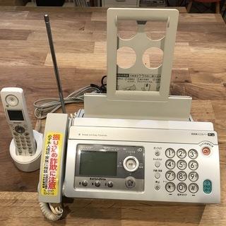 値下☆シャープ・ファックス電話機-子機1台付き ユーズドです。