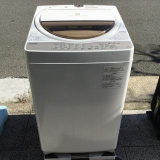 #2997 東芝 全自動洗濯機 6kg AW-6G5(W) 20...