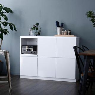 キッチンボード 壁面収納 キッチン収納 キッチンボード 3列x2...