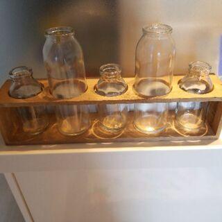 インテリア雑貨:ガラス瓶