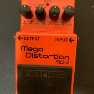 ギターペダル BOSS Mega Distortion MD-2...