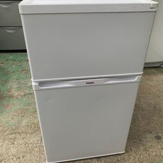 2016年製ハイアール2ドア冷凍冷蔵庫91L