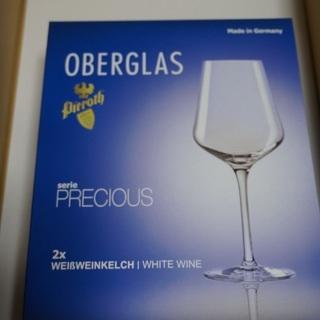 値下げしました 未使用 ワイングラス OBERGLAS prec...