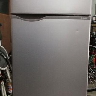 シャープ ノンフロン冷凍冷蔵庫SJ-H12Y- S 118 L ...
