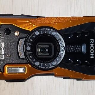 【2018年購入】リコー RICOH WG-50 オレンジ