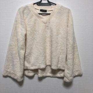 モコモコ素材 冬服シャツ