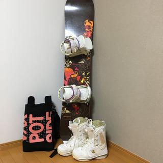 スノーボード スノボー ボード 板 ブーツ セット