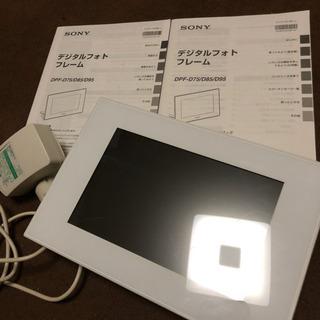 SONY/デジタルフォトフレーム/DPF-D75