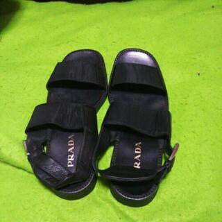 黒のサンダル 30cm