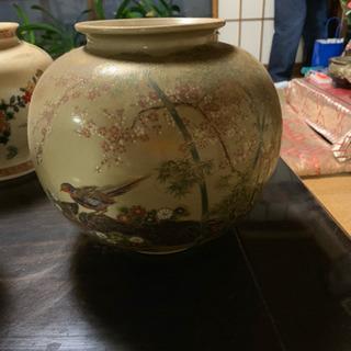 花瓶、九谷焼 17日までの期間限定