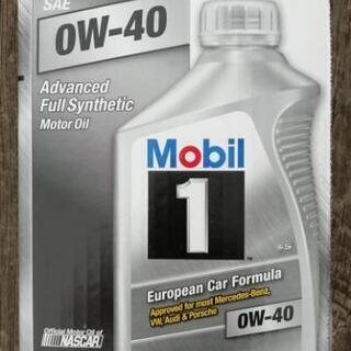 Mobil1  0Wー40  1 QT (0.946L)×6  ...
