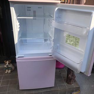 SJ-C14B-P 2ドア 冷蔵庫