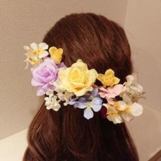 ウエディング花飾り