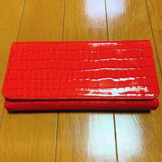 ■定価1.8万程度【SAZABY】ラウンドファスナー長財布RED...