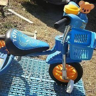 三輪車子供用に