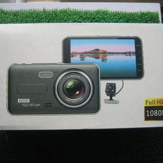 値下げしました新品前後カメラ付き3.2ギガドライブレコーダー