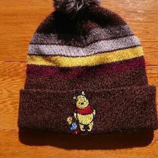 プーさんニット帽