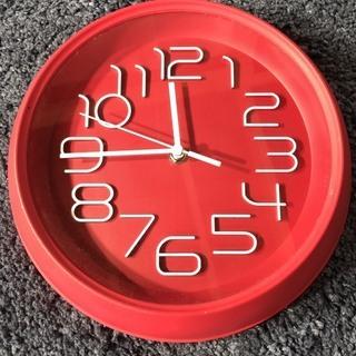ピンク 壁掛け時計