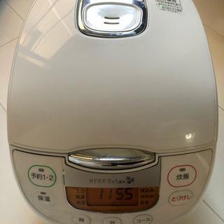 炊飯器、電子レンジ 2点セット